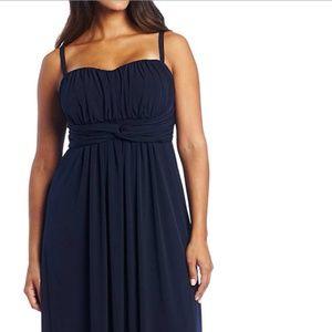 Jessica Simpson Navy Convertible Maxi Dress